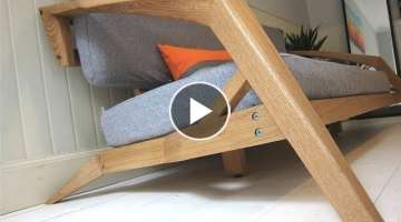 Making an Oak Sofa