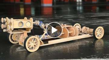 DIY Big wooden CAR