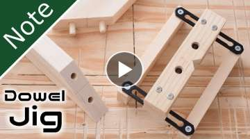 How to Make Dowel-Jig