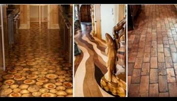 Unusual Wood Flooring Ideas