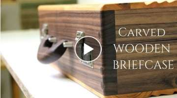 Wooden briefcase // making wooden case