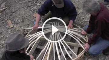 How to make a yurt in 3 days?