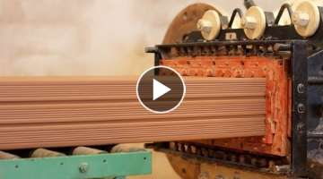 World's Amazing Modern Bricks Making Machine