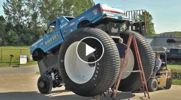 World's Biggest Pickup Truck - BIGFOOT #5 Assembly - BIGFOOT 4x4, Inc.