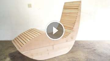 DIY Modern Outdoor Lounge Chair | Modern Builds | EP. 45