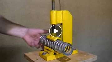 How to make vertical Vise