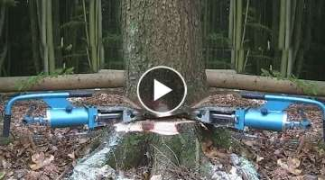 Intelligent Technology Woodcutter Skills Turbo ChainSaw Woodwork Lumberjack Mega Machines Sawmill