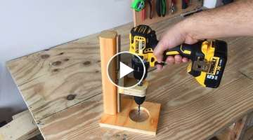 Making a Mobile Drill Press (Drill Guide)