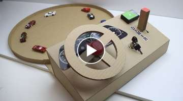 How to make a track car driving Desktop Game from Cardboard