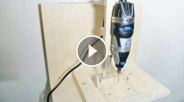 Making a horizontal/vertical mini drill press