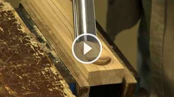 Making a spoon with a gouge and spokeshave