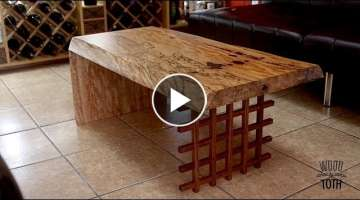 Live Edge Table From Dimensional Lumber- Grizzly Challenge