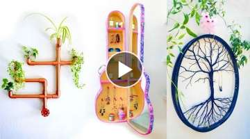 DIY ROOM DECOR! 4 Easy Crafts Ideas at Home