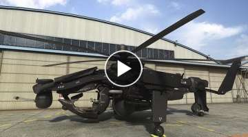 10 Most Insane Attack Helicopters That Actually Exist