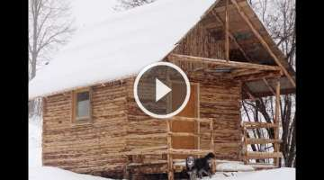 How we Built Log House (Cabin) in One Month