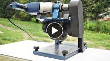 How to Make Standing/Mobile Burnishing Machine