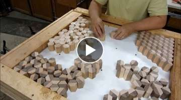 Amazing Woodworking Carpenters Perfect At A New Level Fast and Accurately Easy - Tools Woodworkin...