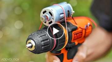 6 Amazing Life Hacks with Drill Machine