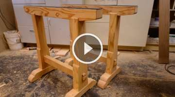 Woodworking, Building Boss Saw Horses