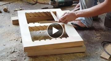Beautiful Window - mini Window - Woodworking tips