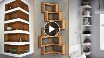 40 Creative Wall Shelves Ideas – DIY Home Decor