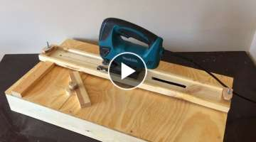Building a Jigsaw Cutting Station
