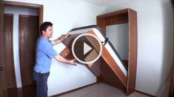 How I built my wall bed quickly and easily with Easy DIY Murphy Bed hardware kit.
