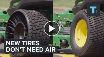New tires don't need air