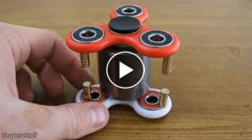 Fun with fidget spinners and super strong magnets!
