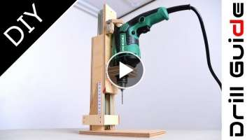 DIY Drill Press(Drill Guide) Machine at Home