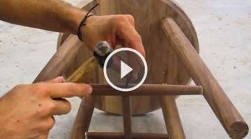 Crafting A Simple Walnut Stool