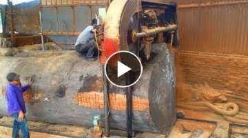 Giant Wood Sawmill Machinery