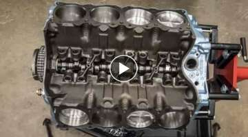 V-8 Engine Rebuild Time-lapse