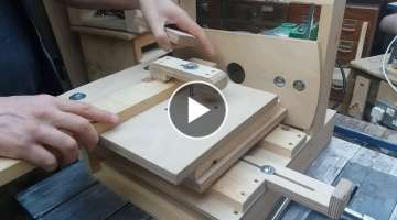 Horizontal Router Table Demo