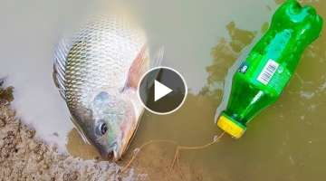Amazing Boy Catch Fish With Plastic Bottle Fish Trap ! Fish Trap in Cambodia Method
