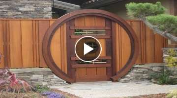 AMAZING FUTURISTIC GATES AND DOORS