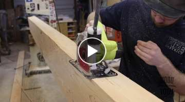 Covering Drywall Beams With Wood Beams