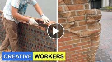 Amazing Creative Construction Worker - You NEED To See #4
