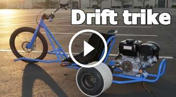 Motorizet Drift Trike Home Build Project