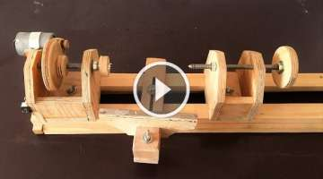 Making a Homemade Lathe