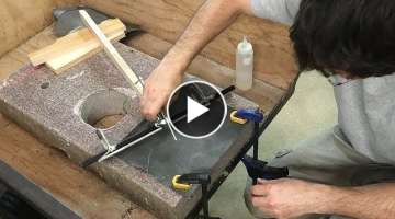 The quest for straight jointer knives