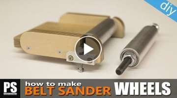 Easy-to-make Belt Sander/Grinder Wheels