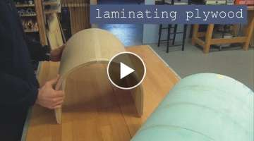 Laminating Plywood (the easy way)