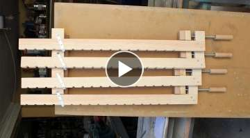 Homemade Wood Bar Clamps