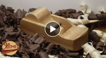 Making a Wooden Block Plane from Firewood