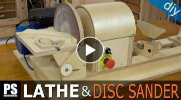 Homemade Lathe & Disc Sander Part3