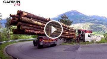 Extreme Log Truck! Driver Of The Year Award.