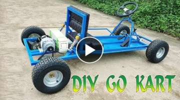 Build a Electric Go Kart at Home - v2 Electric Car - Tutorial