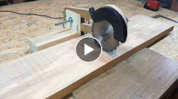 Homemade Sliding Miter Saw