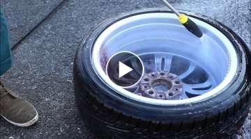 How to clean your wheels the good way